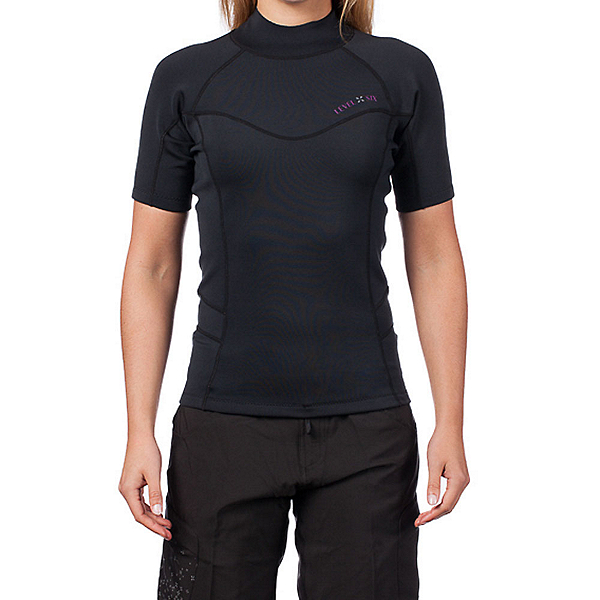 Level Six Sombrio 0.5mm Neoprene Short Sleeve Rash Guard - Women, , 600