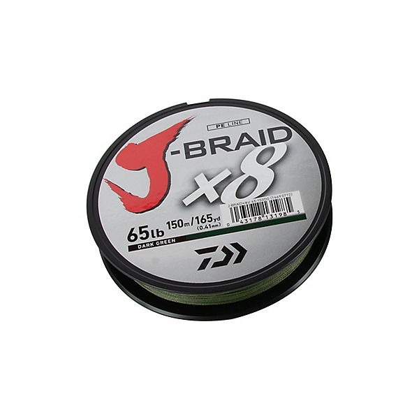 Daiwa J-Braid X8 Braided Line, , 600