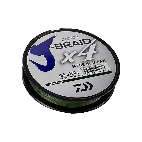 Daiwa J-Braid X4 Braided Line, , 600