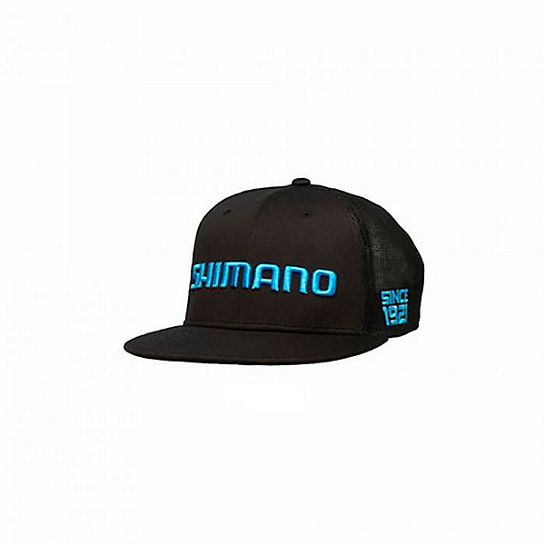 Shimano Flatbill Cap, Black, 600