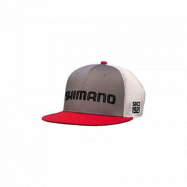 Shimano Flatbill Cap, Gray, 600