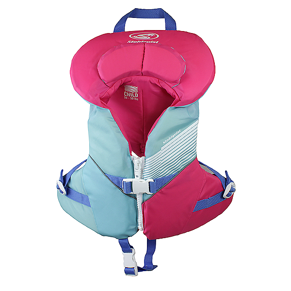 Stohlquist Nemo Child Life Jacket - PFD - 2018, Aqua/Pink, 600