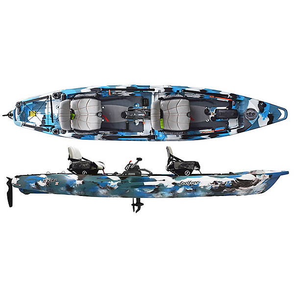 Feelfree Lure II Tandem Kayak with Overdrive Pedal Drive, , 600