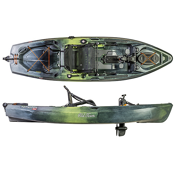 Old Town Topwater 106 PDL Kayak 2021, , 600
