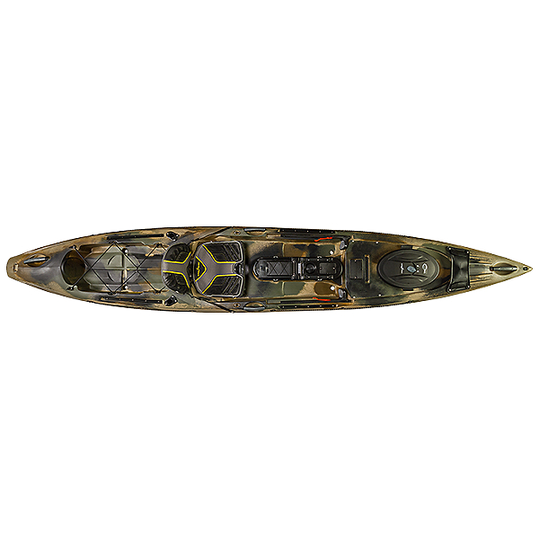 Ocean Kayak Trident 13 Angler Used Brown Camo 600