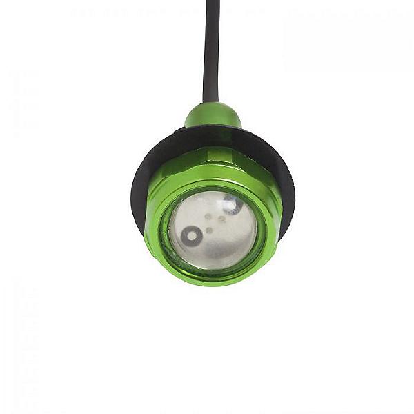 Yak Power Super Bright LED Button Light Kit (2pc), Green, 600