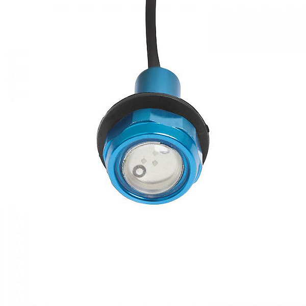 Yak Power Super Bright LED Button Light Kit (2pc), Blue, 600