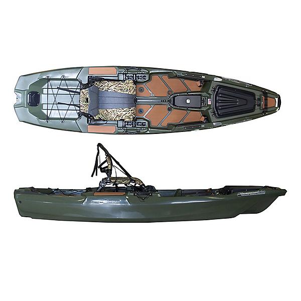 Bonafide SS107 Sit on Top Fishing Kayak Woodsman Limited Edition, , 600