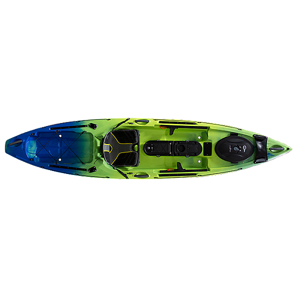 Ocean Kayak Trident 11 Angler Kayak - 2019, Ahi, 600