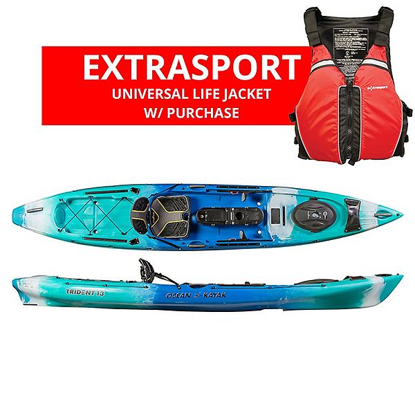 Ocean Kayak Trident 13 Angler Kayak - 2019, , 600