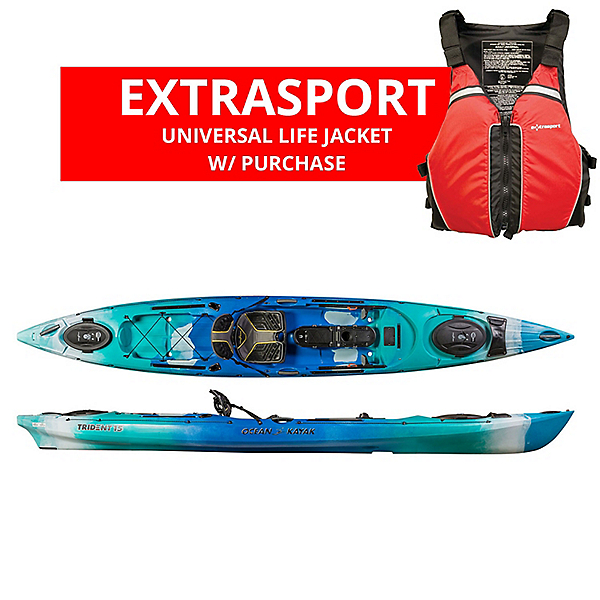 Ocean Kayak Trident 15 Angler Kayak - 2019, , 600