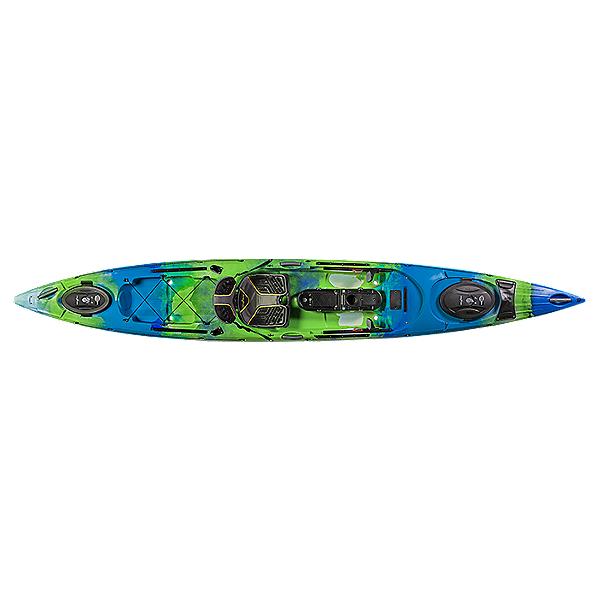 Ocean Kayak Trident 15 Angler Kayak - 2019, Ahi, 600