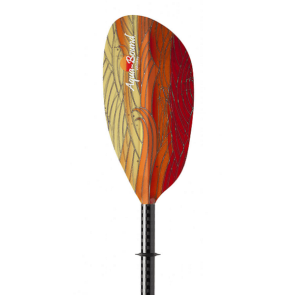 AquaBound Whiskey Fiberglass 2 Piece Kayak Paddle, , 600