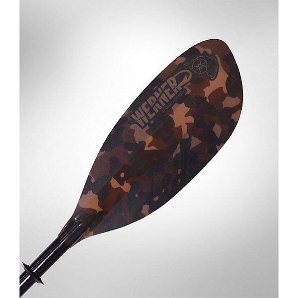 Werner Shuna Hooked Adjustable LeverLock Kayak Paddle Straight Shaft, , 600