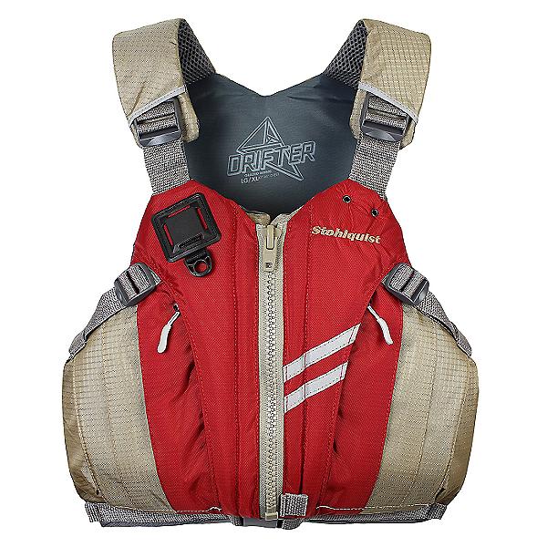 Stohlquist Drifter PFD 2019 - Life Vest, DEEP RED, 600