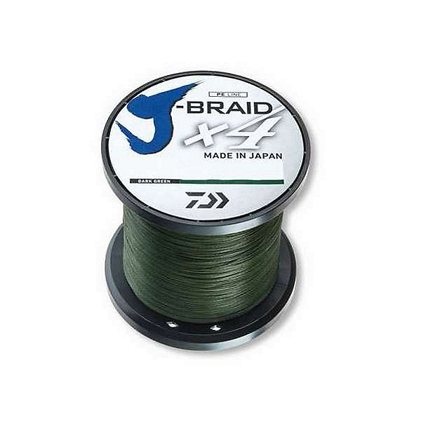 Daiwa J-Braid X4 Braided Line - 50lb 300Yds, , 600