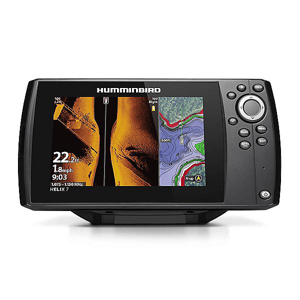 Humminbird HELIX 7 Chirp Mega SI G3 Side Imaging GPS Fishfinder, , 600