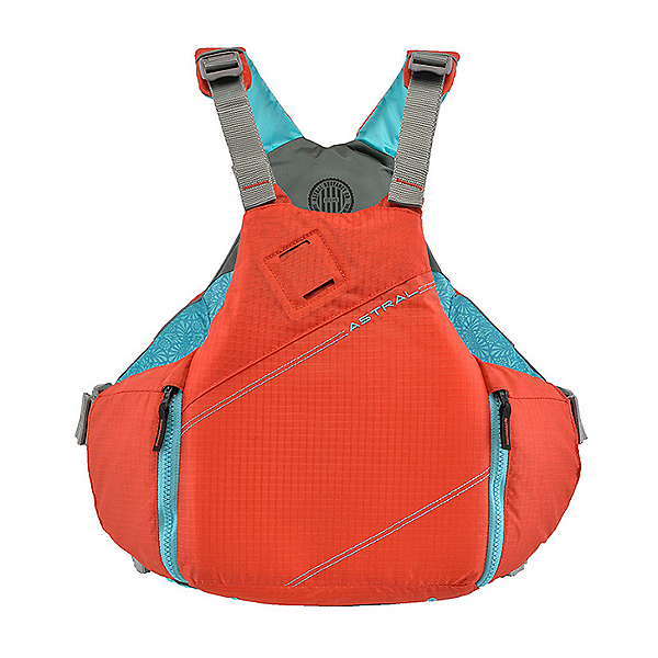 Astral YTV Life Jacket 2021- PFD Hot Coral - M/L, Hot Coral, 600