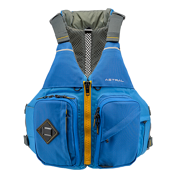 Astral Designs Ronny Fisher Life Jacket - PFD 2019 Ocean Blue - M/L, Ocean Blue, 600