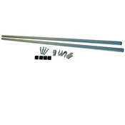 Malone 78 Inch MicroSport HD 1.25 Inch Galvanized Cross Bars, , medium