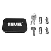 Thule One-Key System Lock Cylinder with Keys - 4 pack 2021, , medium