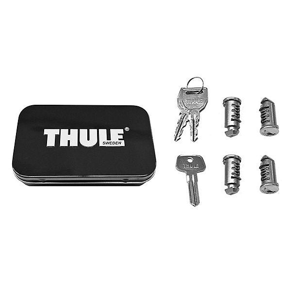 Thule One-Key System Lock Cylinder with Keys - 4 pack, , 600
