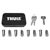 Thule One-Key System Lock Cylinder with Keys - 8 pack, , medium