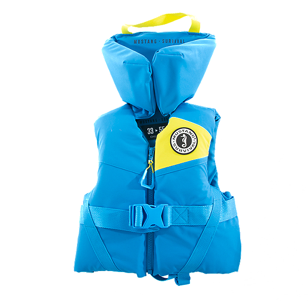 Mustang Lil Legends Infant PFD - Life Vest, Azure, 600