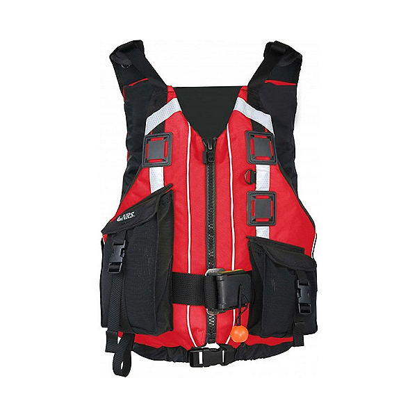 NRS Rapid Rescuer Life Jacket - PFD, Red, 600