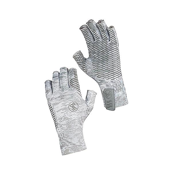 Buff Aqua Gloves Pelagic Camo White - L, Pelagic Camo White, 600