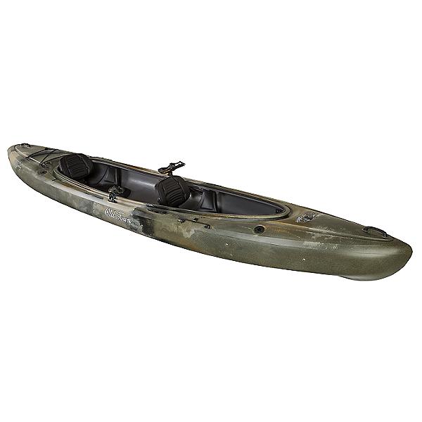 Old Town Twin Heron Angler Tandem Kayak - 2019 Closeout, Brown Camo, 600