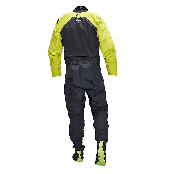 Mustang Survival Hudson Dry Suit Mahi Yellow - XL, Mahi Yellow, 600
