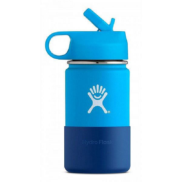 Hydro Flask 12 oz Kids Wide Mouth Bottle, Pacific, 600