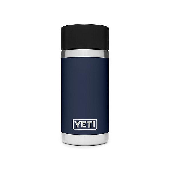 Yeti Rambler 12oz Insulated Stainless Steel Tumbler with HotShot Cap, Navy, 600
