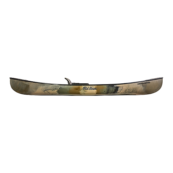 Old Town Discovery 119 Solo Sportsman Canoe Brown Camo, Brown Camo, 600