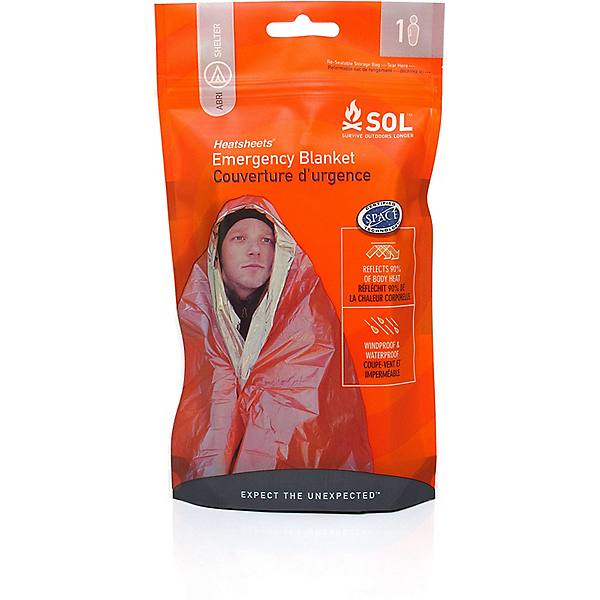 Adventure Medical Kits SOL Emergency Blanket 1 Person, , 600