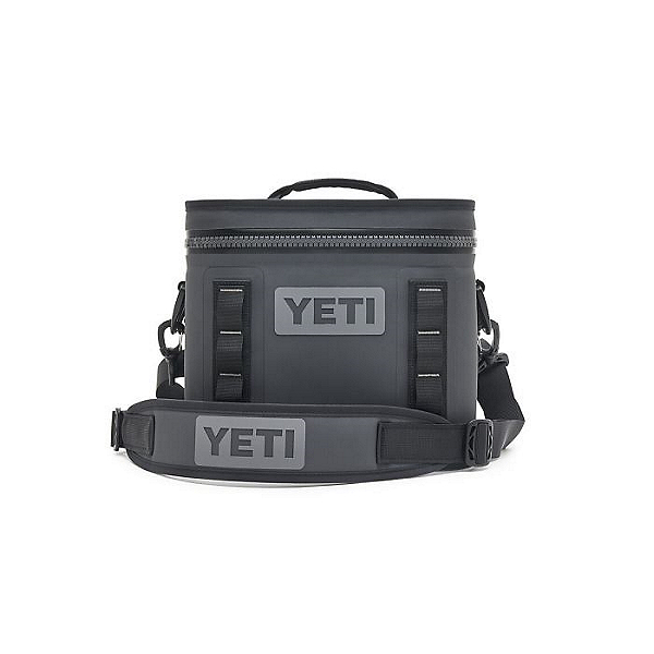 Yeti Coolers Hopper Flip 8 Cooler, Charcoal, 600