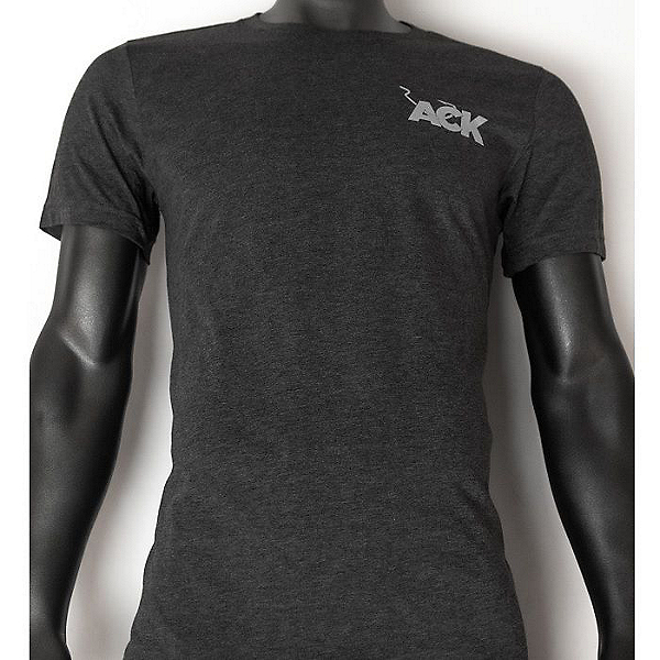 ACK Logo Shirt, Dark Gray Heather, 600