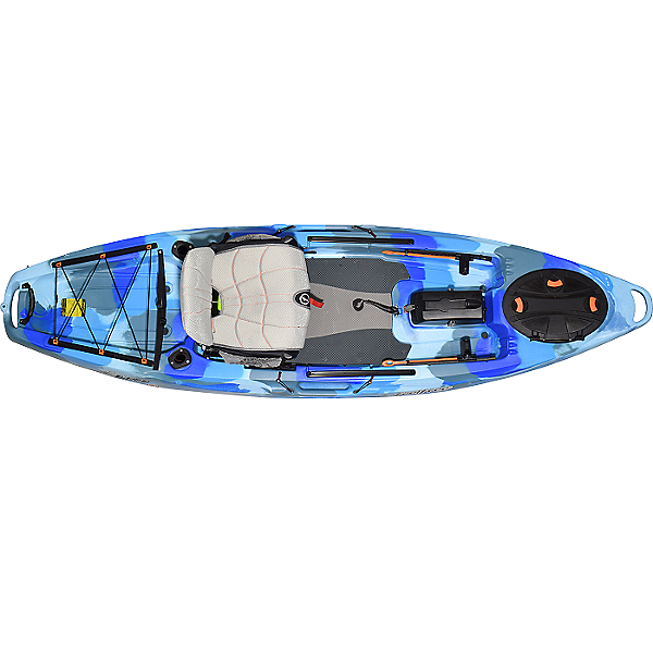 Feelfree Lure 10 Version 2 (V2) Kayak, Blue Camo, 600