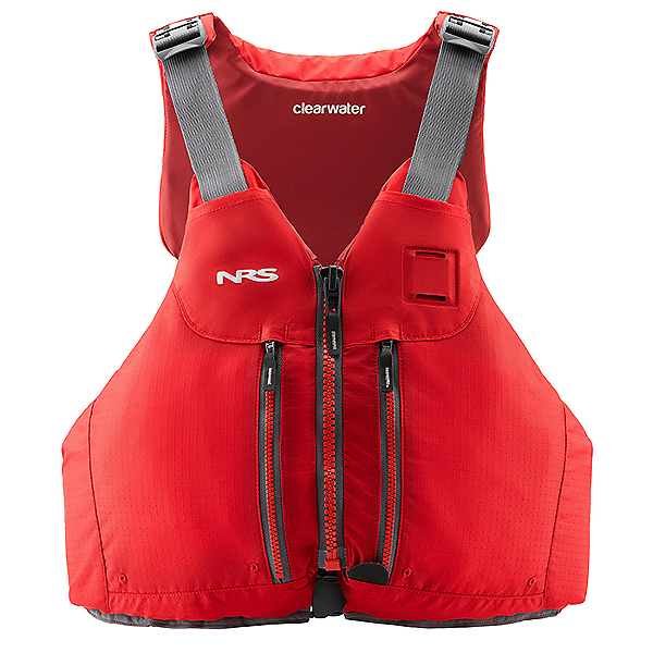 NRS Clearwater Mesh 2020 Life Jacket - PFD, Red, 600