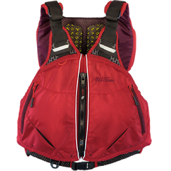 Old Town Solitude Mens PFD Red - L/XL, Red, 600