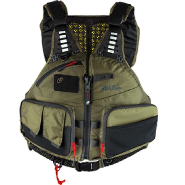 Old Town Lure Angler Life Jacket - PFD 2021 Moss - S/M, Moss, 600