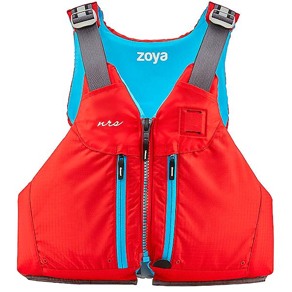 NRS Women's Zoya Mesh Back 2020 Life Jacket - PFD, Red, 600