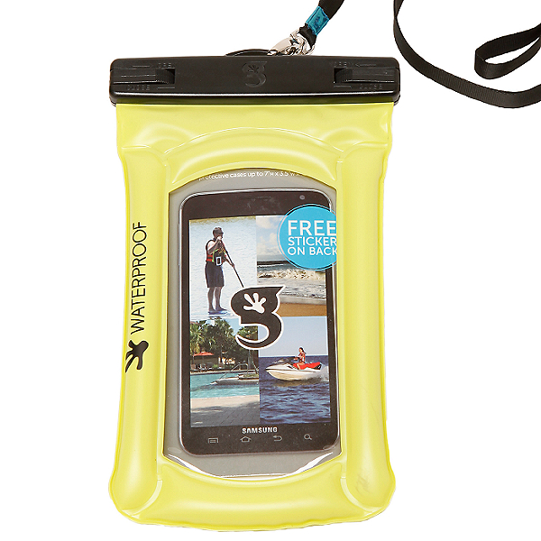 Geckobrands Float Phone Dry Bag 2021, Neon Green, 600