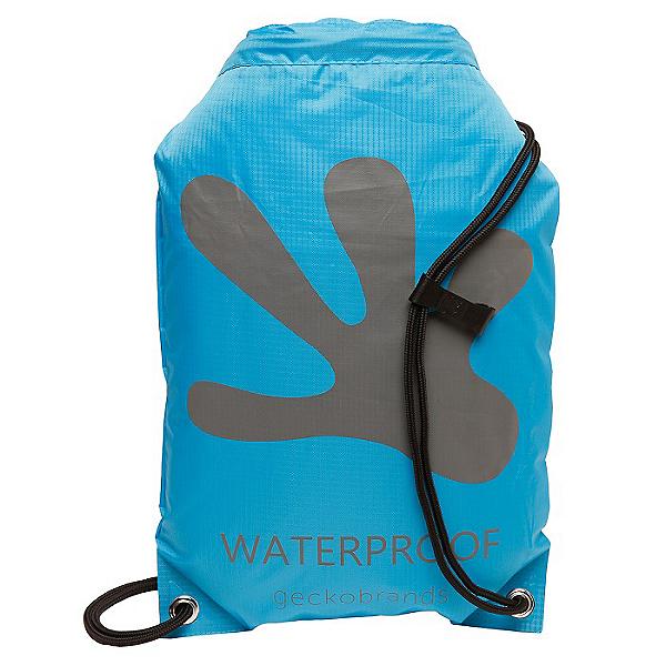 Geckobrands Waterproof Drawstring Backpack, , 600