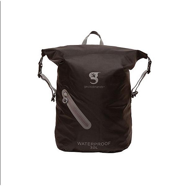 Geckobrands Waterproof Drawstring Backpack 2021 Black/Grey, , 600