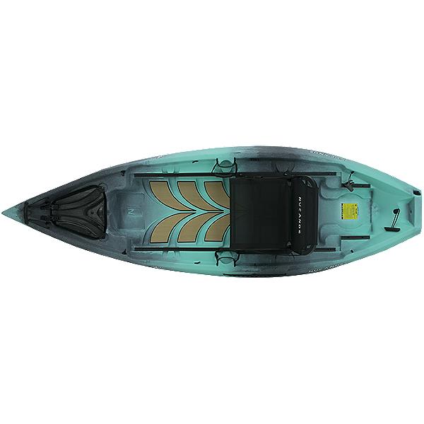 NuCanoe Frontier 10 Kayak with 360 Fusion Seat 2021 Gulf Coast, Gulf Coast, 600