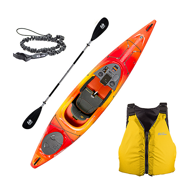 Wilderness Systems Pungo 120 Kayak Package, , 600