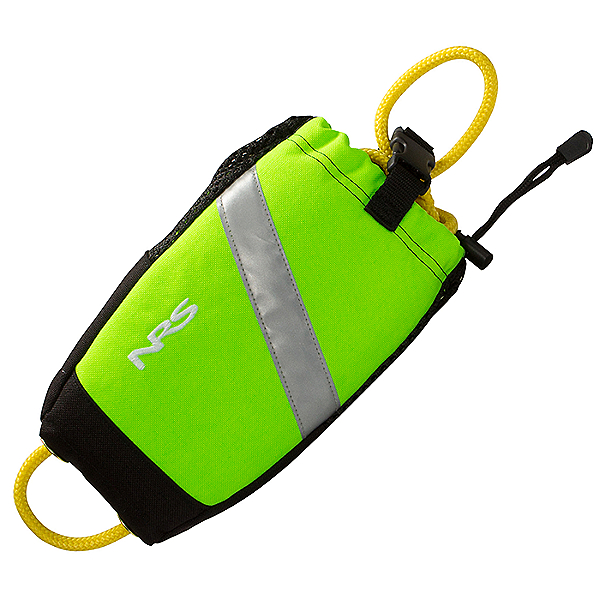 NRS Wedge Rescue Throw Bag 2021, High Vis Green, 600