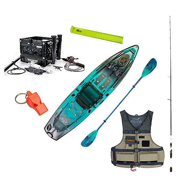 Old Town Topwater 120 Kayak Angler Package, , 600